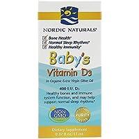 Bebé de la vitamina D3, 400 UI, 0,37 fl oz (11