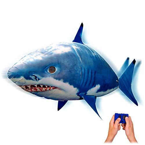 RC Ferngesteuerter Fliegender Hai-Fisch - Ferngesteuerter Riesenfisch, mit Helium gefüllt schwebt er in der Luft, Neu