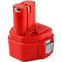Forrat Batería 12V 3.0Ah Ni-MH Baterias de repuesto para Makita 6270D 1220 PA12 1222 1233S Red