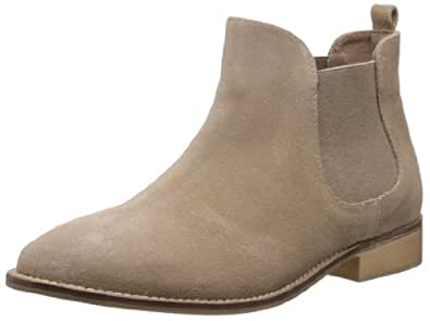 Carlton London Women's Falton Beige Leather Boots - 5 UK (CLL-2821)