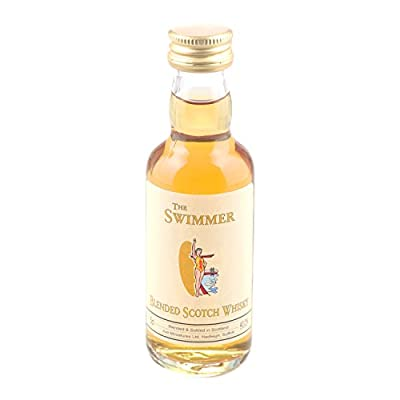 The Swimmer Scotch Whisky 5cl Miniature - 12 Pack from Just Miniatures