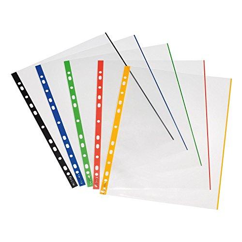 herlitz-10914414-prospekthulle-a4-glasklar-mit-farbigem-rand-100er-packung-007-mm