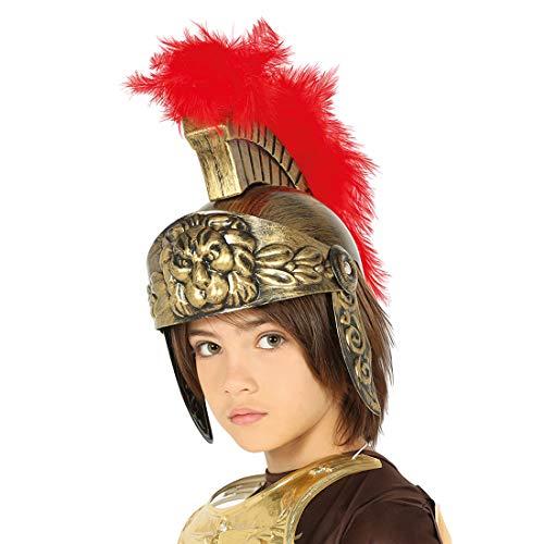 Sparta Kostüm Kinder - NET TOYS Römer-Helm für Kinder |