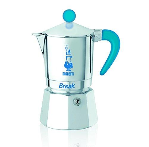 Bialetti 5912-Caffettiera espresso Break 3tazze, alluminio