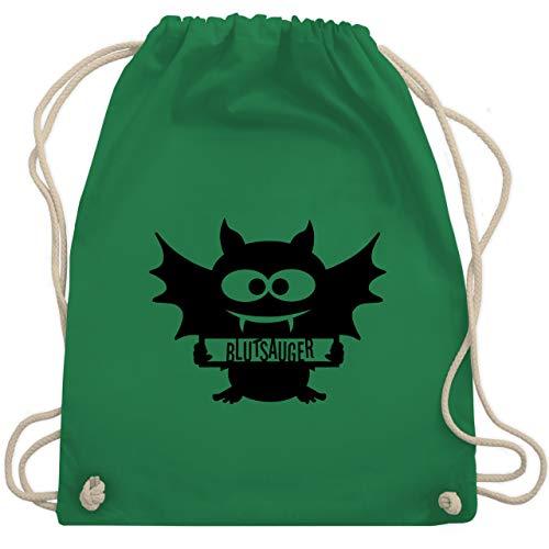 Halloween - Fledermaus - Unisize - Grün - WM110 - Turnbeutel & Gym Bag