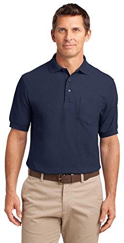 Port Authority Herren Poloshirt Navy