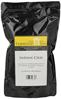 Elmwood Inn Fine Teas, Indian Chai Black Tea, 16-Ounce Pouch