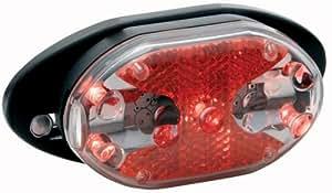 Torch LA4055 5 LED Carrier Fit Rear Bike Light