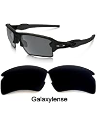 a2315fc050 Galaxy Replacement lenses For Oakley Flak 2.0 XL Polarized Black 100% UVAB