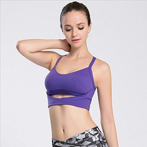 frau-bh-yoga-schock-sportbekleidung-keine-spur-nein-stahl-ring-purple-m