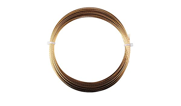 20M Gold Color Poweka Windshield Cut-Out Wire,Auto Glass Removal Tool Accessories
