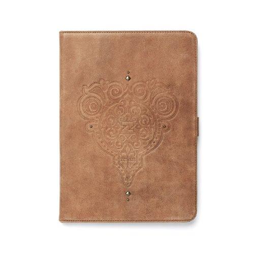 Zenus Retro Vintage Diary Case/Tasche Vintage Braun für Apple iPad Air