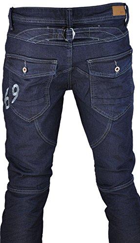 Jeans homme fashion, jeans skinny, jeans sarouel Marine pz1110