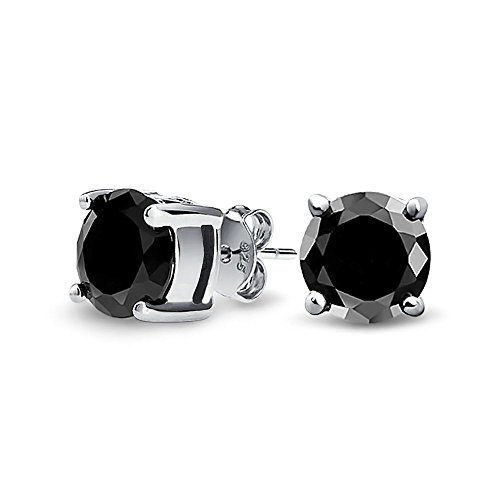 bling-jewelry-herren-unisex-cz-rund-schwarzr-knopf-ohrhanger-aus-925er-sterling-silber-8mm