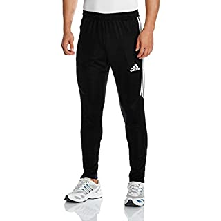 adidas Herren Tiro 17 Trainingshose, Black/White, M