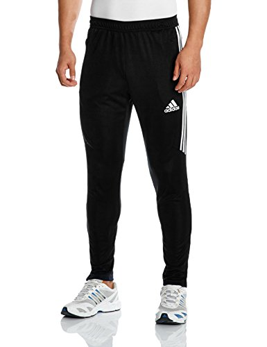 adidas Herren Tiro 17 Trainingshose, Black/White, S