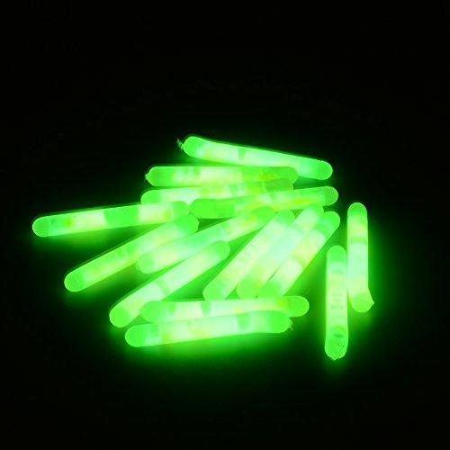 Favolook pesca fluorescente light stick night float dark glow stick 15pcs–grandi dimensioni
