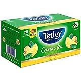 Tetley Green Tea, Ginger Mint Lemon (25 With 5 Tea Bags Extra)