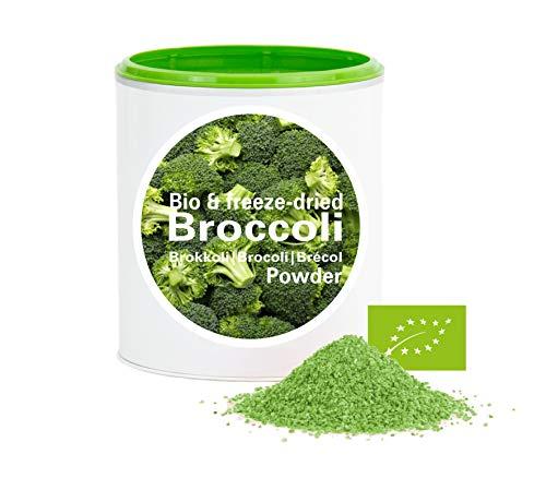 Brokkoli - Bio Brokkoli gefriergetrocknet |bio organic| freeze-dried broccoli| good-Gemüse von good-smoothie| 100% Gemüse |ohne zusatzstoffe + viele Inhaltsstoffe| 60g