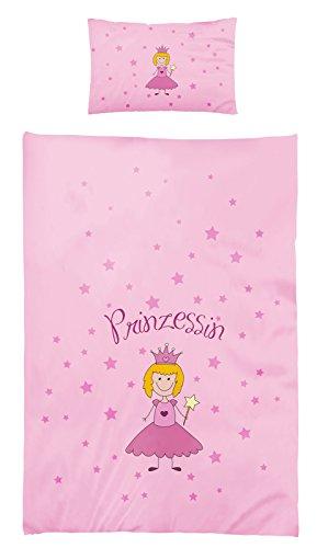 Kinderbettwäsche Renforce Baumwolle 100x135 Prinzessin 416770