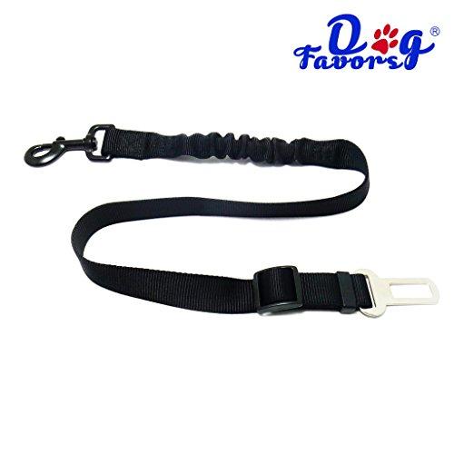 Cintura di sicurezza per auto per cani, sistema di allacciamento universale, trasporto sicuro degli animali domestici con sistema flessibile regolabile, ideale da abbinare con pettorina per cani