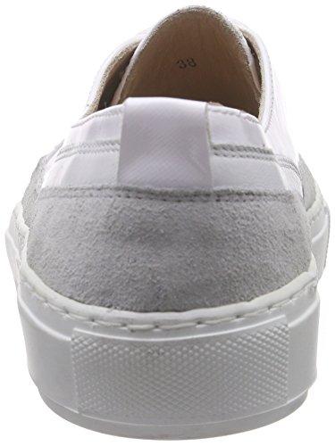 Lea Foscati Grasse, Baskets Basses femme Blanc - Weiß (BIANCO+BIANCO+BIANCO)