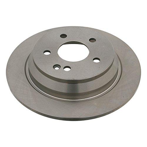 Preisvergleich Produktbild febi bilstein 24077 Bremsscheibensatz (hinten, 2 Bremsscheiben), Lochzahl 5
