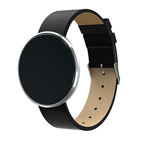 Aktivität Smart Wristband Herzfrequenz-Messgerät Blutdruck Blut-Sauerstoff Fitness Tracker Band Bluetooth Armband , D