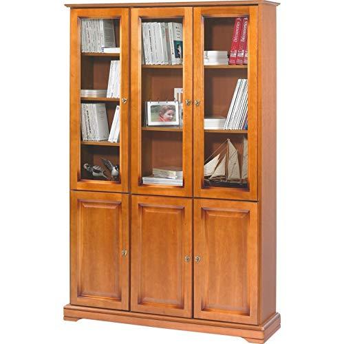 Actual Diffusion 7302pv Elsass Bibliothek mit 6Türen Holz 33x 119,6mm x 182,2cm -