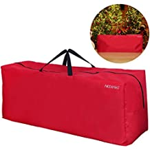 de3f93bd18 NICEXMAS, borsa/custodia per albero di Natale, Red, 135 x 38 x