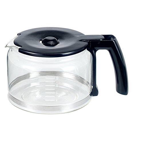 BEEM D2000654 Glaskanne mit Deckel für Fresh-Aroma-Perfect V2, Kaffeemaschine mit Mahlwerk