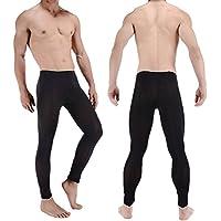 GZ La Intima Herren-Unterwäsche, Sexy Unterwäsche, Hohe Elastizität, für Herren, aus Seide, transparent