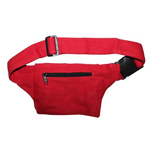 Freak Scene® Tasche ° Gürteltasche ° Ian ° Bauchtasche ° Hüfttasche, alle Farben!!! rot
