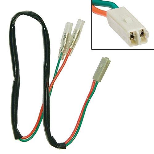 Câble adaptateur Moto Honda clignotant pour divers Kawasaki//Paire