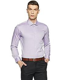 Van Heusen Men's Solid Slim Fit Formal Shirt - B0792LD53P