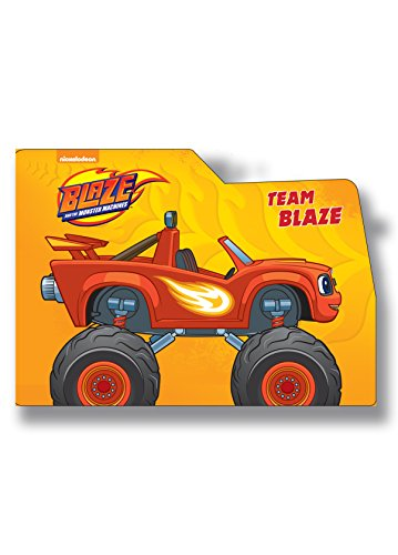Blaze Crusher Wheelie Board Book (Wheelie Board)