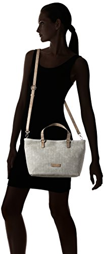 GERRY WEBER - Simple Mind Handbag Shz, Borsa a spalla Donna Grigio (Light Grey)