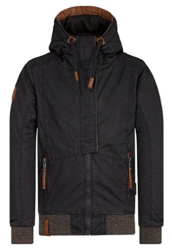 Naketano Male Jacket Pablo Powder Black, M