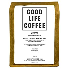 Good Life Verve Paleo Coffee 500g Ground Filter Single Origin Specialty Arabica Bulletproof Coffee Beans Roasted to Order Great Taste Winner