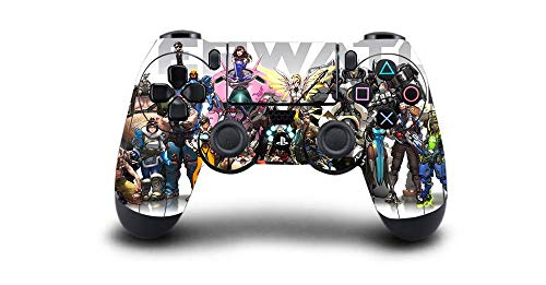 CIVIQ 1pcs Overwatch PS4 Skin Sticker Decal Vinyl for Sony PS4 Playstation 4 Dualshock 4 Controller Skin Stickers