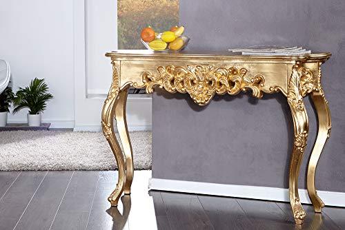 KonsolenTisch - Venice, gold im Barockstil - Frisiertisch, Schminktisch