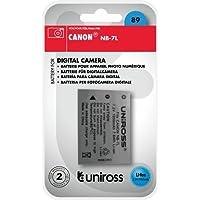 Uniross U0219501 Batterie de rechange Li-Ion Pour Canon NB-7L 1050 mAh