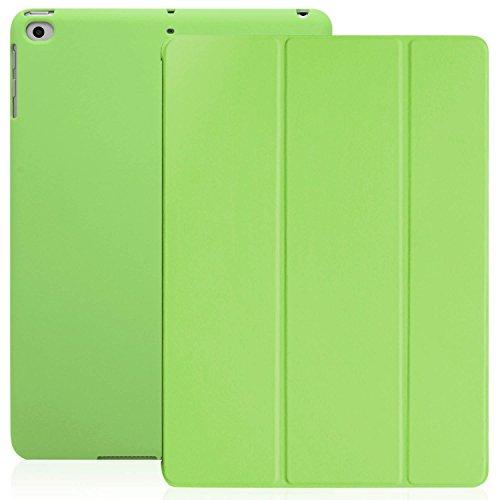 iPad 9.7 Zoll Case Hülle 2018, 2017 - KHOMO Grünes Grün Gehäuse mit Doppeltem Schutz Ultra Dunn und Super Leicht Smart Cover Schutzhülle Nur für 2018 und 2017 Versionen Neue Apple iPad 9.7 - Green (Ipad-gehäuse)