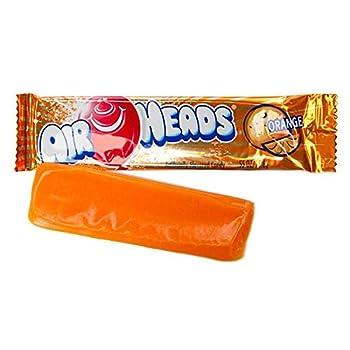 Airheads Orange - Confiseries Américaines Fruitées - Lot de 9 Bonbons de 16 g