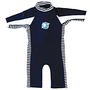 Splash About Kids UV Combi Wetsuit - Navy Blue, 1-2 Years