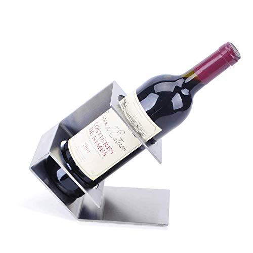 Vinteen Bogenform Edelstahl Weinregale Kreative Weinregal Europäische Art Weinregal Traube Weinregal Rotwein Wein Bracke Weinkühler Put Piece