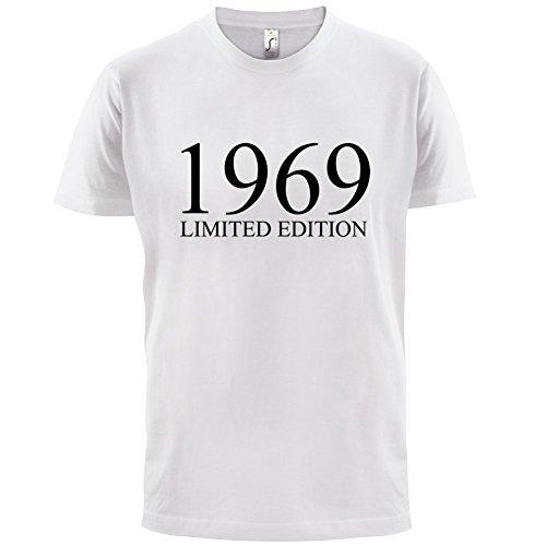 1969 Limierte Auflage / Limited Edition - 48. Geburtstag - Herren T-Shirt - 13 Farben Weiß
