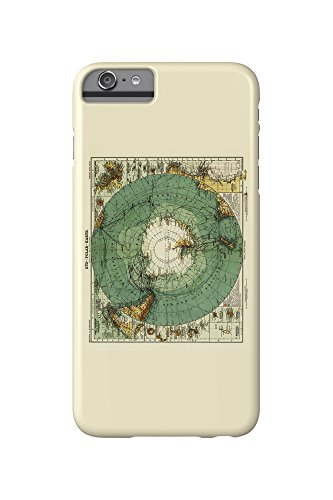 antarctica-panoramic-map-iphone-6-plus-cell-phone-case-slim-barely-there