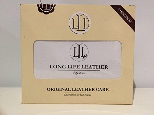 Long Life - Juego de Productos y Accesorios para Limpiar sofás de Piel