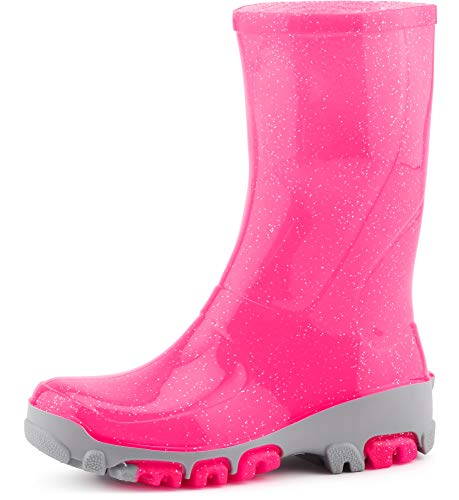 Ladeheid Childrens Wellingtons Rain Shoes LARB015